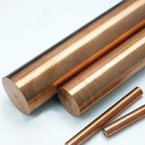 Copper Round Bar C101 Bespoke Cut Pieces Stainless